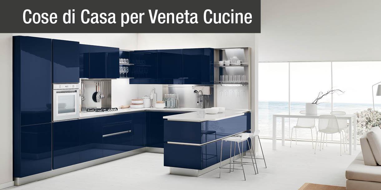 Con Colours di Veneta Cucine un colore deciso per la tua