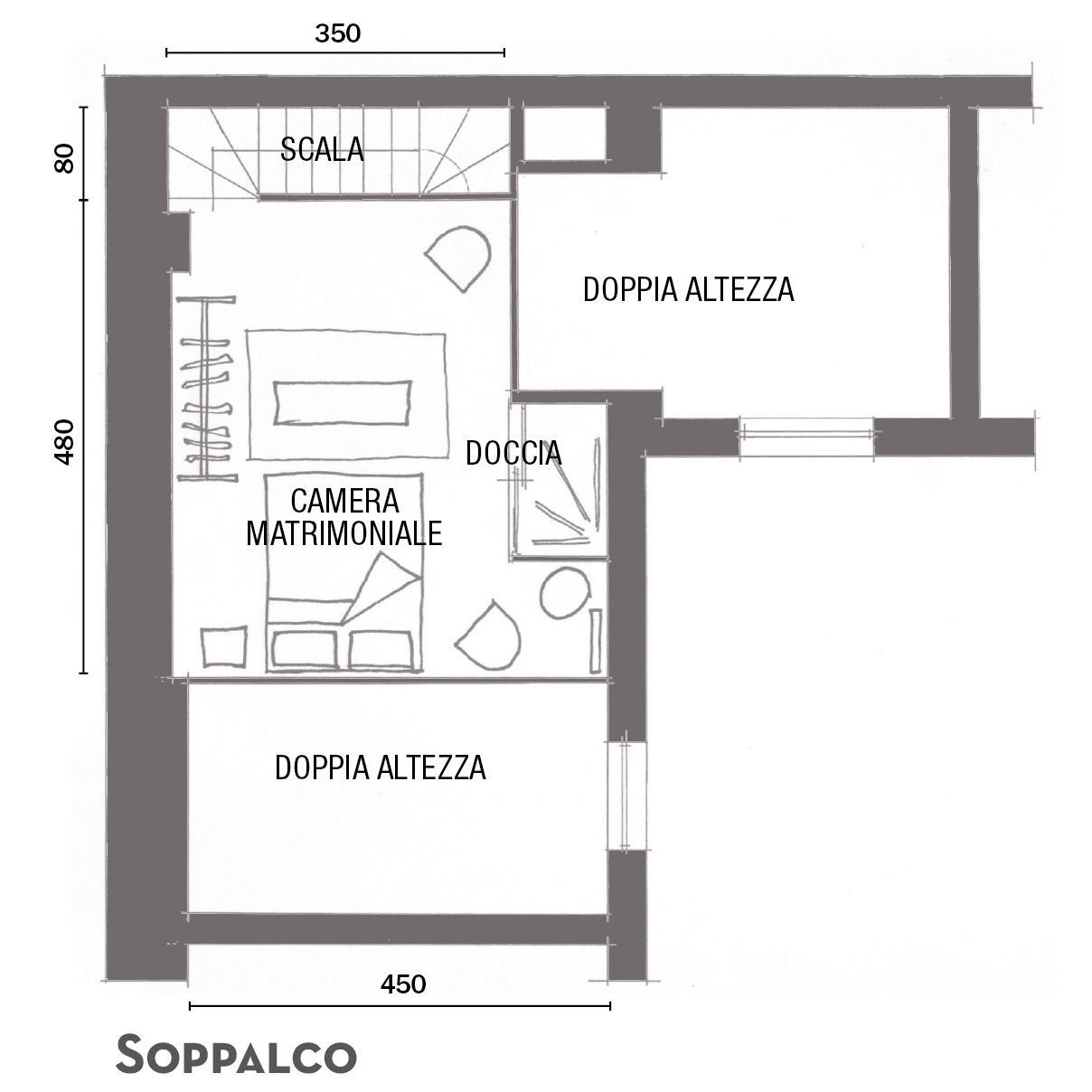 47 mq  22 mq di soppalco una piccola casa dallo stile rigoroso con un tocco femminile  Cose