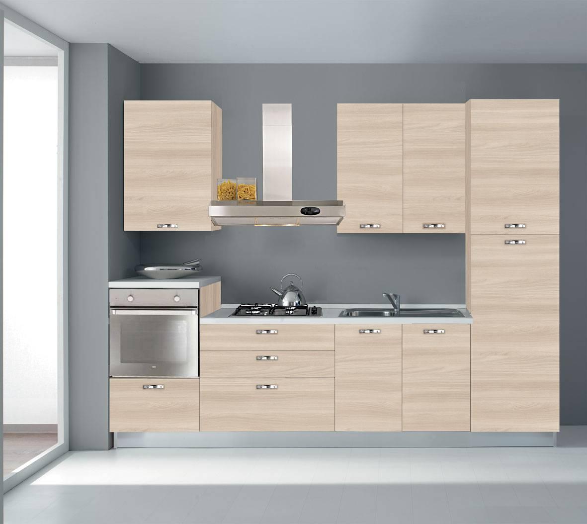 Cucina piccola per chi ha poco spazio o per chi sta poco