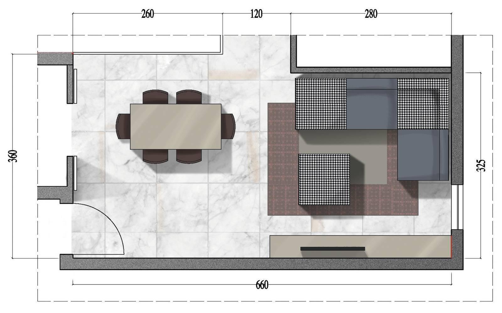 arredare una cucina abitabile di 16 mq. Soggiorno Quadrato Rettangolare O A L Come Arredarli Cose Di Casa