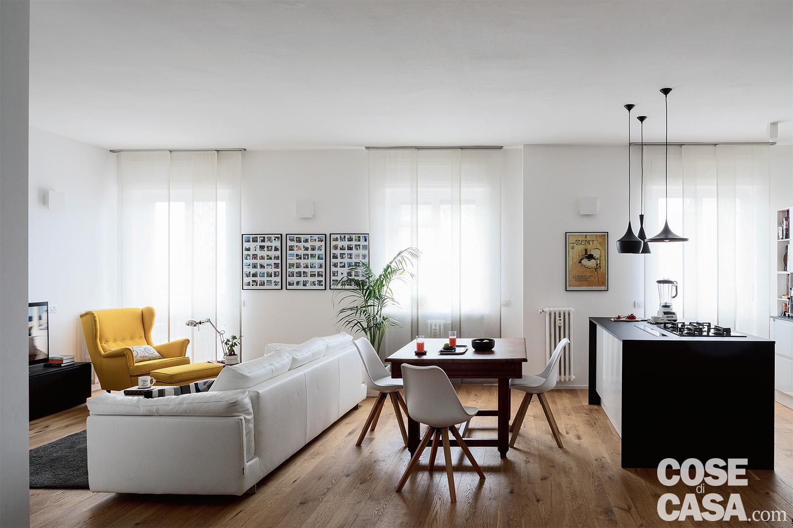 Illuminazione soggiorno e sala da pranzo cucina e sala da pranzo