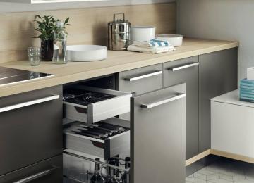 Cassetti Scorrevoli Cucina | Mobile Madia Moderna Per Soggiorno Sala ...