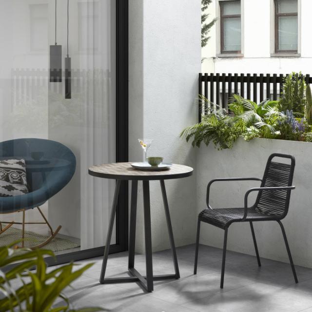 Tavolo piccolo per esterni tondo o quadrato  Cose di Casa