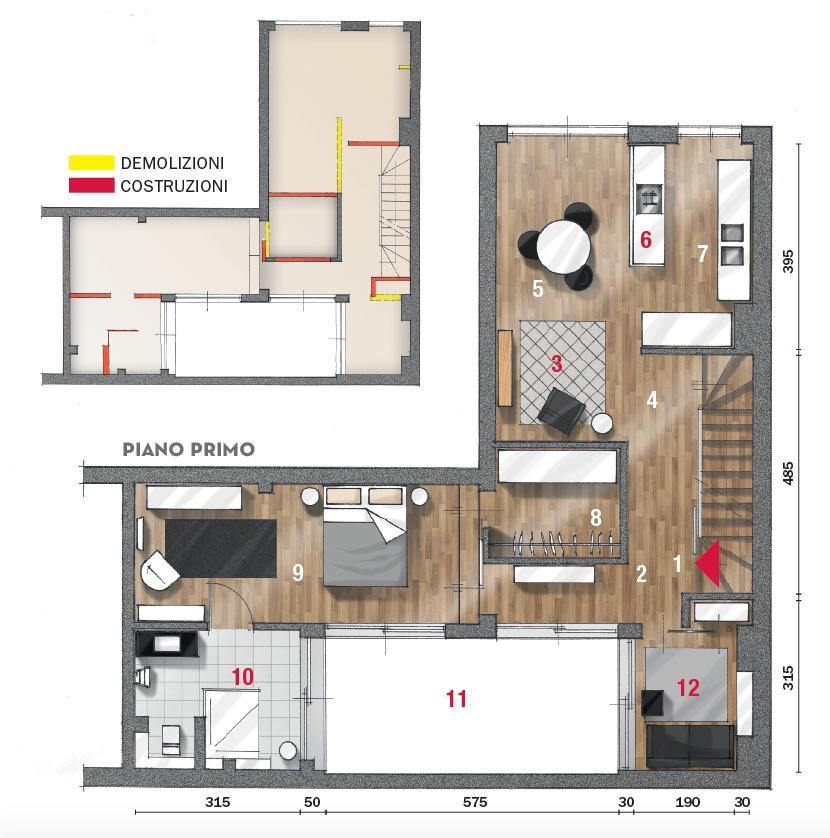 La casa è composta da ingresso, cucina abitabile. Casa Su Due Livelli 115 Mq Minimal E Contemporanei Cose Di Casa