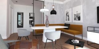 Oggi ingresso e soggiorno sono un ambiente unico. Arredare Il Soggiorno Cucina Aperto Sull Ingresso 3 Ambienti In 1 Cose Di Casa
