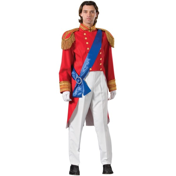 Red Prince Charming Costume Storybook Snow White