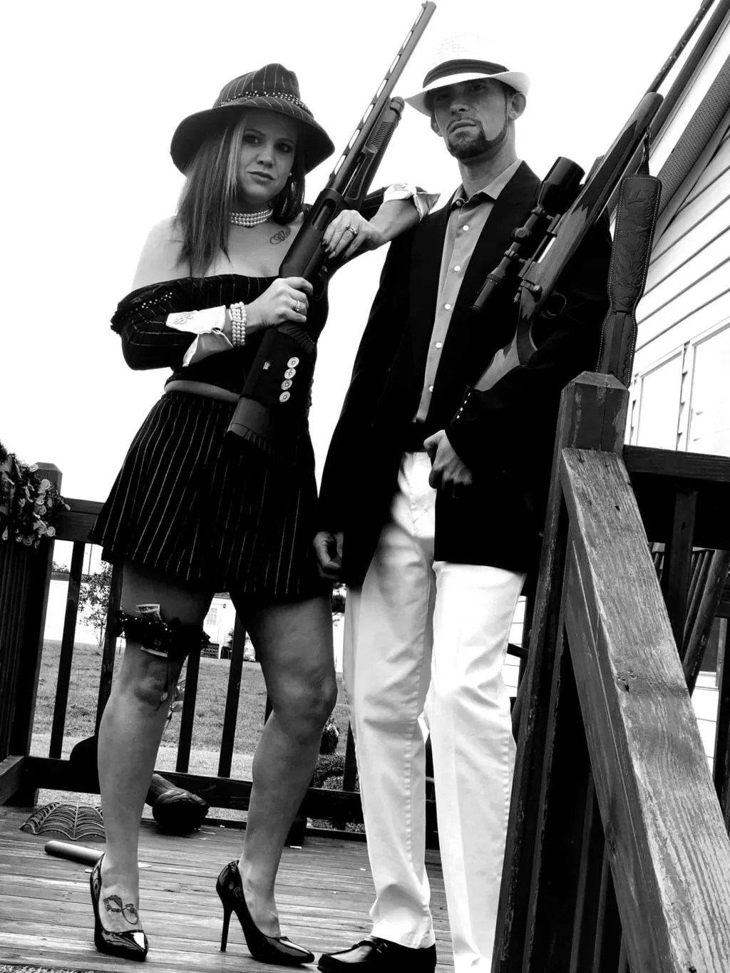 Bonnie And Clyde Costume : bonnie, clyde, costume, Bonnie, Clyde, Halloween, Costume, Contest