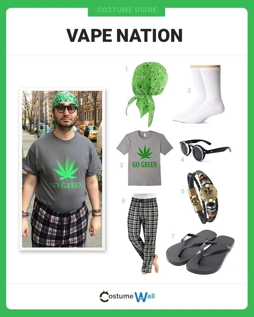 dress like vape nation