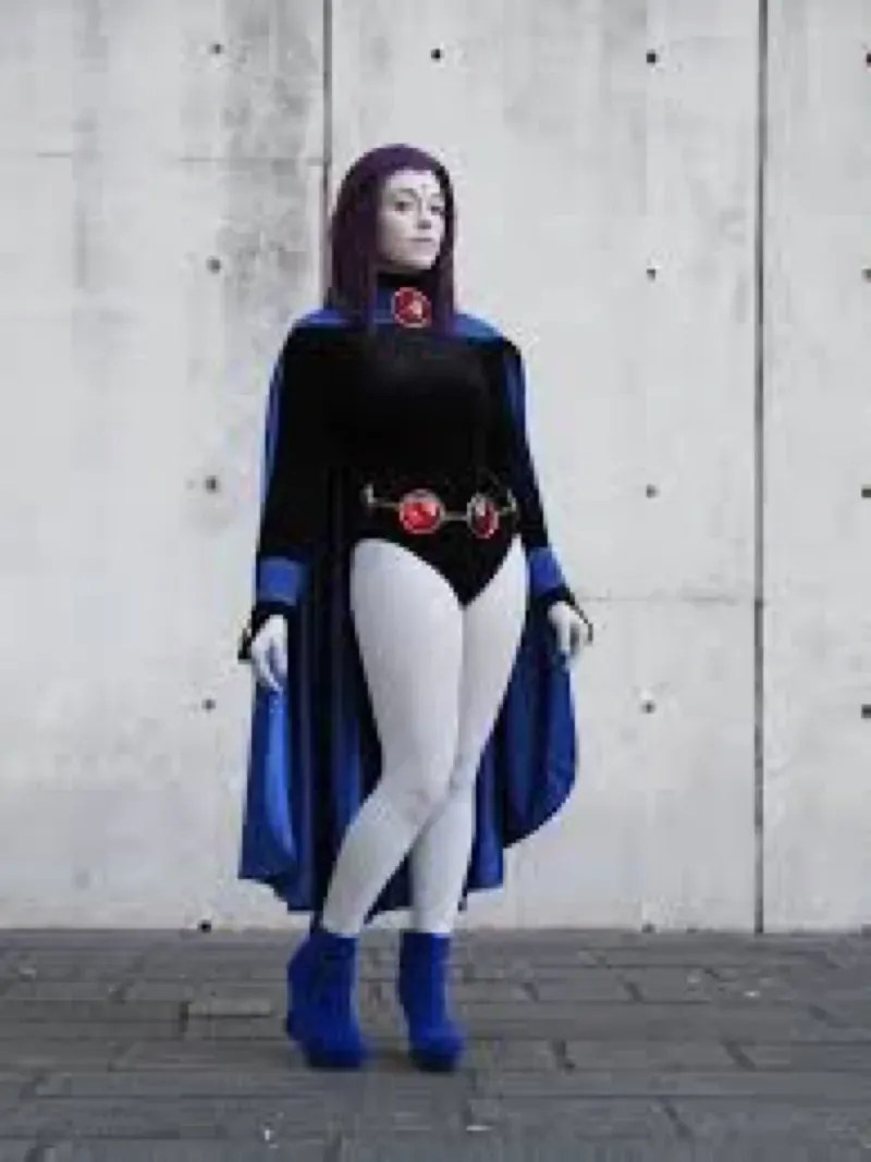Dress Like Raven Teen Titans Costume DIY Outfit