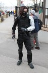 Dress Winter Soldier Costume Halloween And