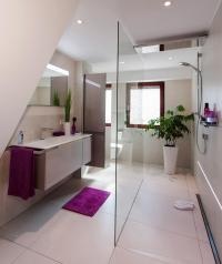 Badezimmer Dachschrge  Bilder & Ideen  COUCH
