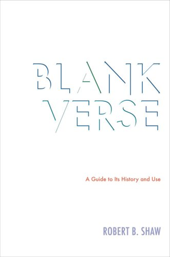 Andrew Hamilton reviews Robert B. Shaw's Blank Verse