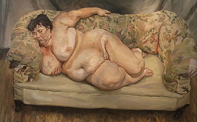 Lucien Freud, Benefits Supervisor Sleeping