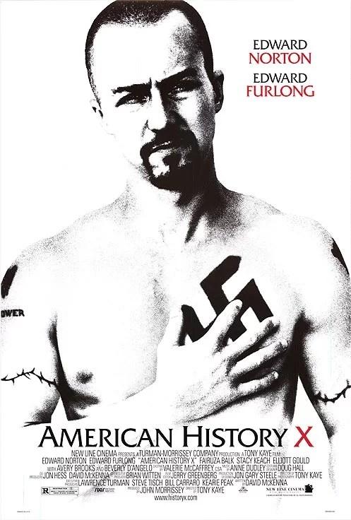 Risultati immagini per AMERICAN HISTORY X