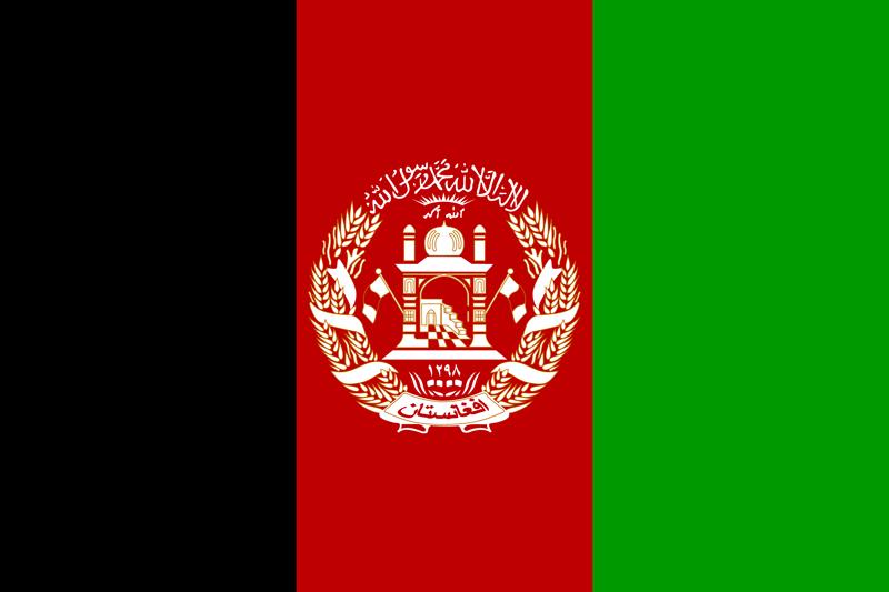 flag of afghanistan image
