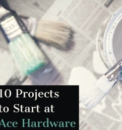 10 diy ace hardware projects with coupons [ 1080 x 1080 Pixel ]