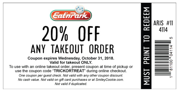 Eat'N Park Coupons
