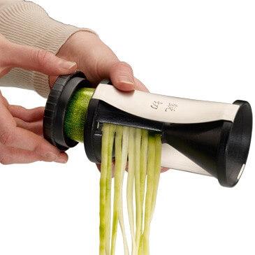taille legumes spaghettis spirelli gefu