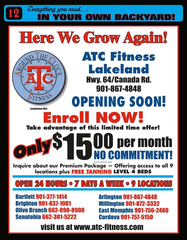 Atc Fitness Bartlett : fitness, bartlett, Bartlett, Spring
