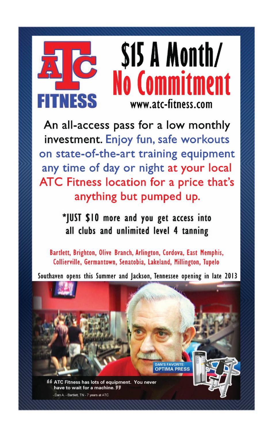 Atc Fitness Bartlett : fitness, bartlett, Memphis