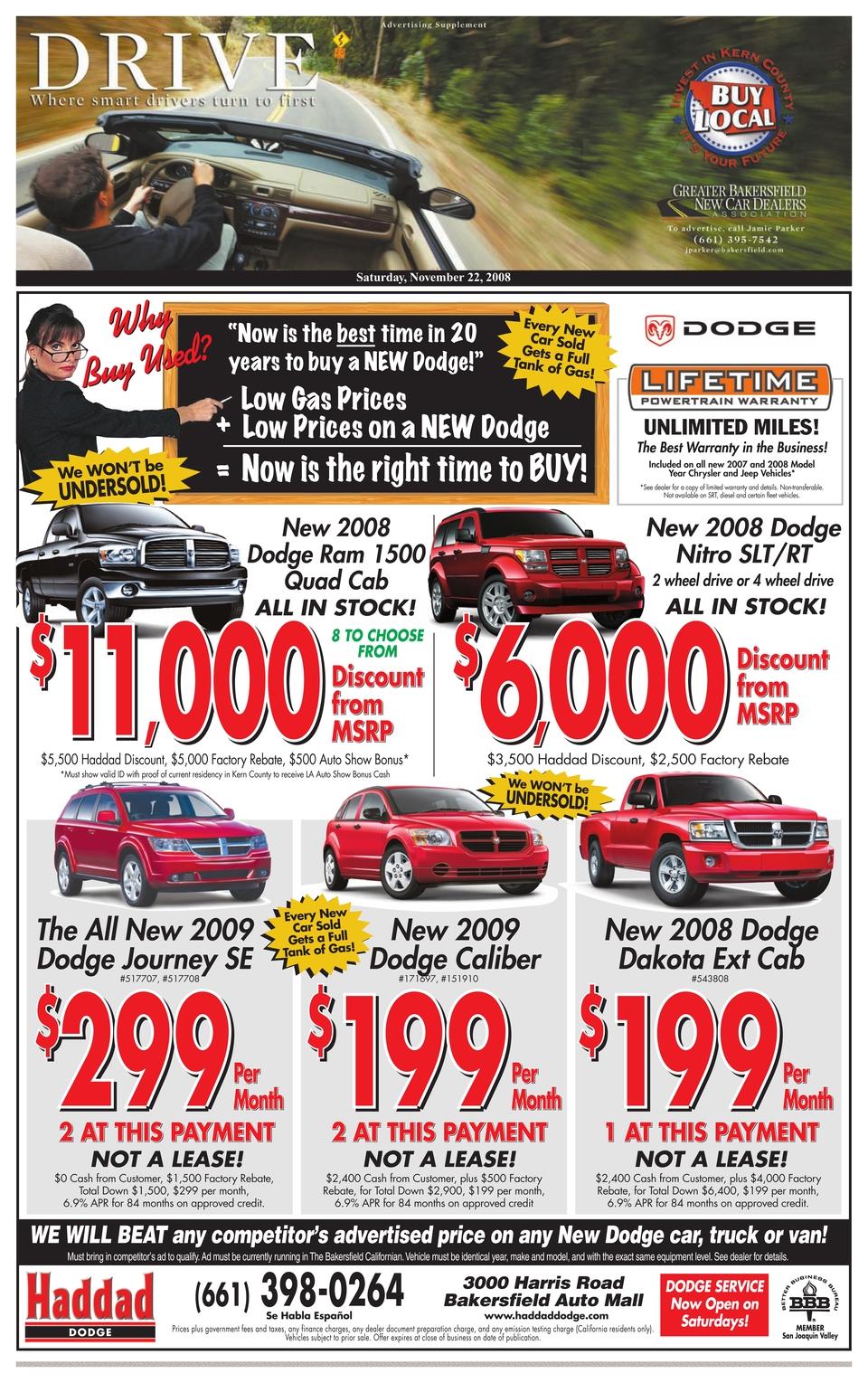 Dodge Dealership Bakersfield : dodge, dealership, bakersfield, Drive, 11-22-08