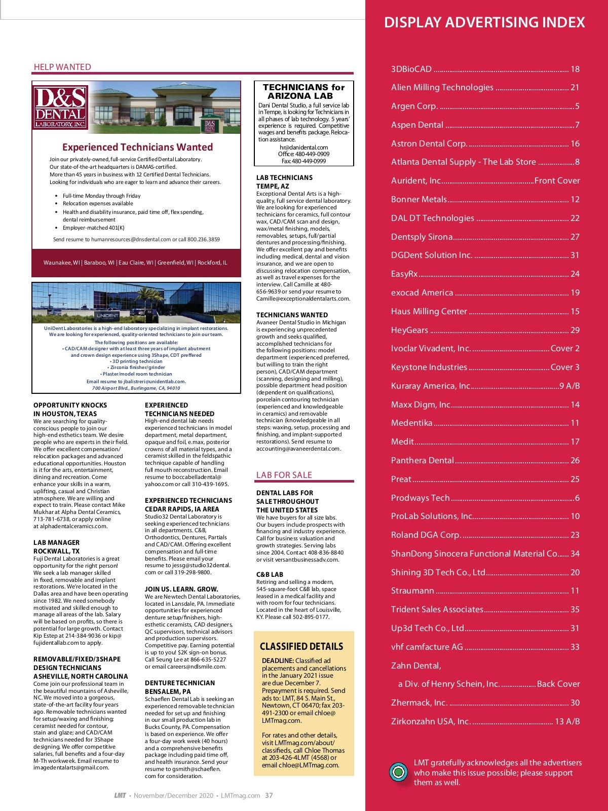 Aspen Dental Price List : aspen, dental, price, Management, Today, November/December