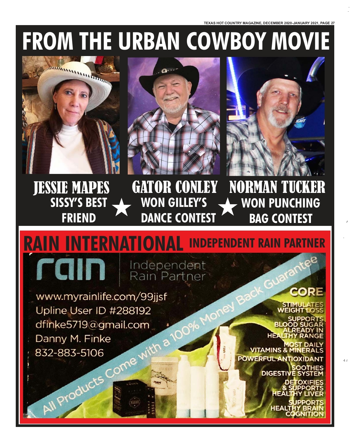 texas hot country texas hot country magazine dec 2020 jan 2021