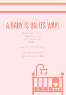free baby shower invitations