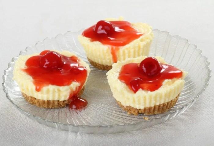 Mini Cheesecakes I Kitchme