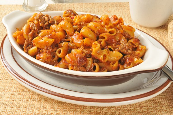 Tex Mex Ground Beef Chili Macaroni Casserole Kitchme