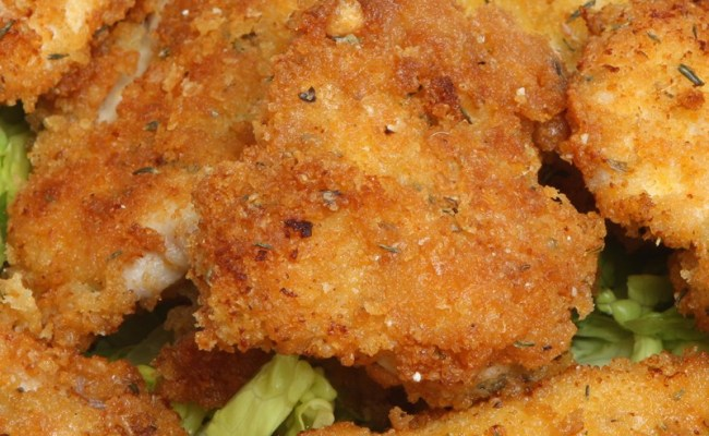 Baked Chicken Nuggets Kitchme