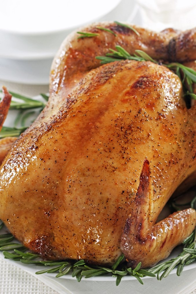 Roast Chicken with Rosemary | KitchMe