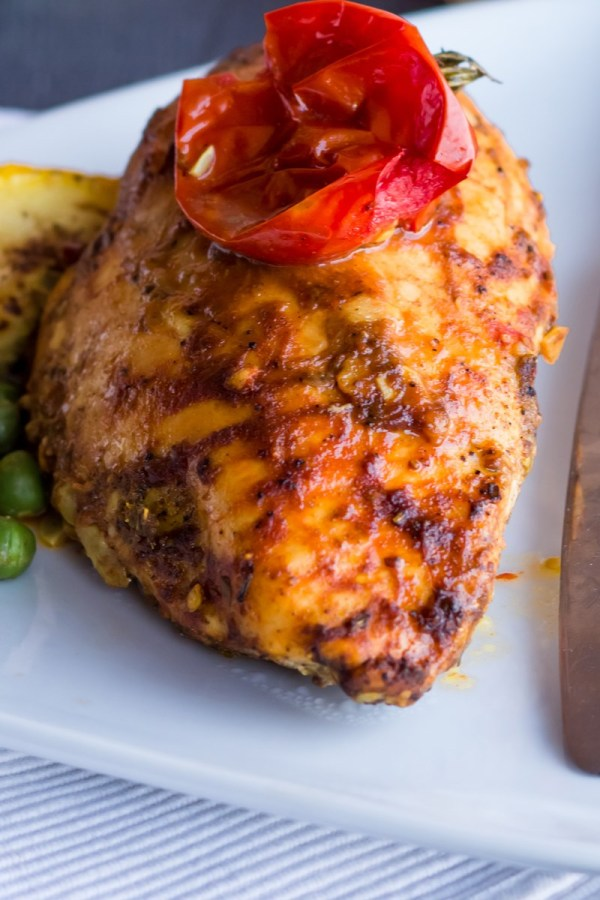 Skinny Baked Buffalo Chicken Breasts KitchMe