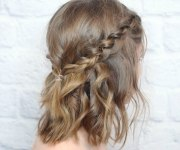 quick holiday hairstyles
