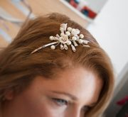 whimsical diy wedding hair accessories