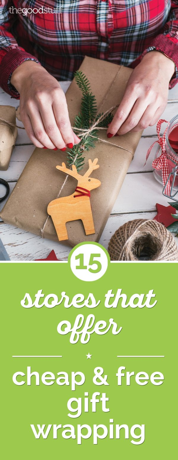 15 Stores That Offer Cheap Free Gift Wrapping thegoodstuff