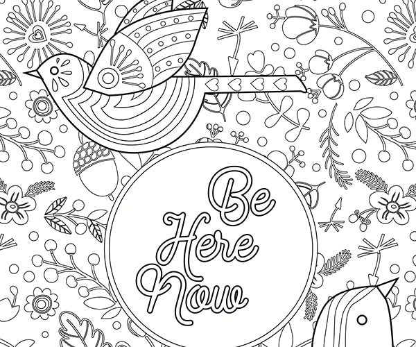 Adult Coloring Pages Quotes Sketch Coloring Page