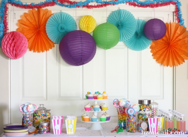 17 first birthday party
