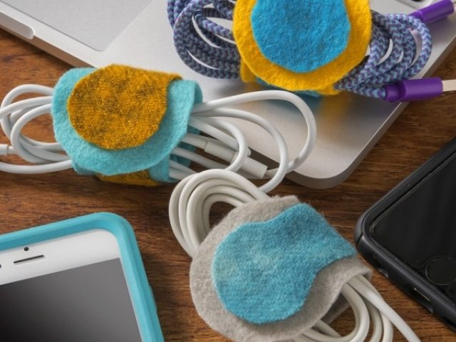Image result for home office cords velcro