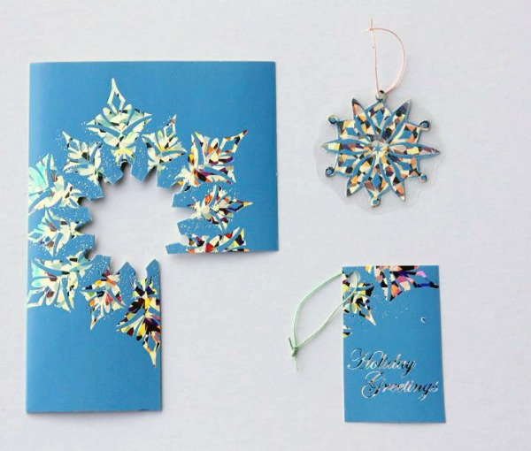 Recycling Christmas Cards • Crafting A Green World