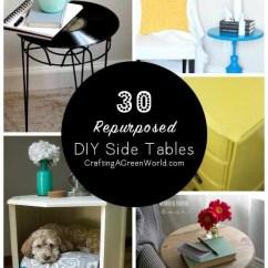 Diy Living Room Side Tables Formal Setup 30 Table Ideas Reduce Reuse Redecorate