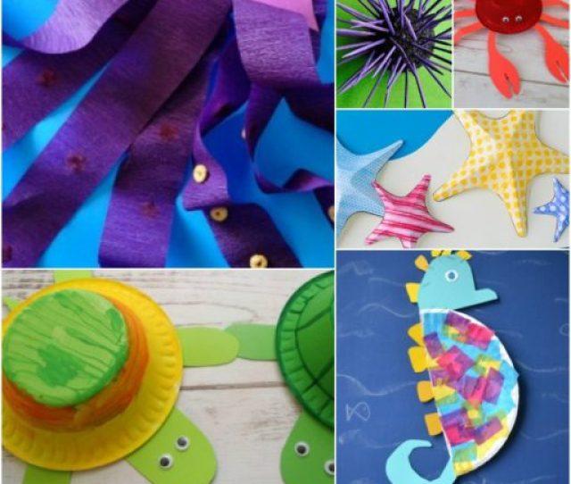 Ocean Animal Crafts For Kids Crafty Morning