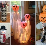 Dollar Plastic Pumpkin Bucket Craft Ideas Crafty Morning