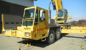 Grove TMS870 70Ton Hydraulic Truck Crane For Sale