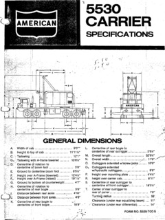 Truck Cranes American Specifications CraneMarket