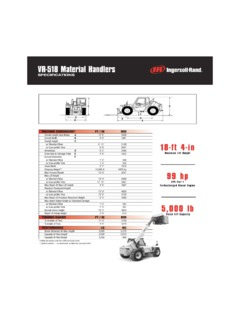 Ingersoll Rand Specifications CraneMarket