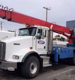 manitex 22101s 22 ton boom truck crane on kenworth t800 0 [ 1100 x 840 Pixel ]
