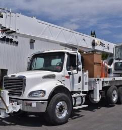 altec ac38 103s 38 ton boom truck crane for sale trucks material on  [ 1183 x 922 Pixel ]