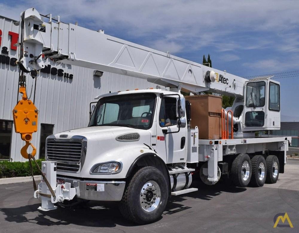 medium resolution of  altec ac38 103s 38 ton boom truck crane for sale trucks material on