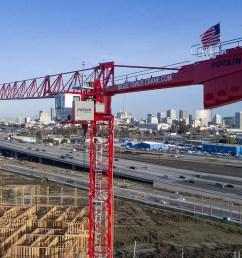 potain mdt 219 j10 11 ton flat top tower crane 0 [ 1375 x 1024 Pixel ]